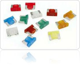 An assortment of Low Profile Mini Fuses