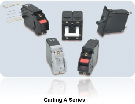 carling hydraulic magnetic a series circuit breaker