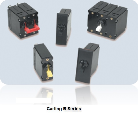 carling b series circuit breakers, carling hydraulic magnetic b series circuit breaker