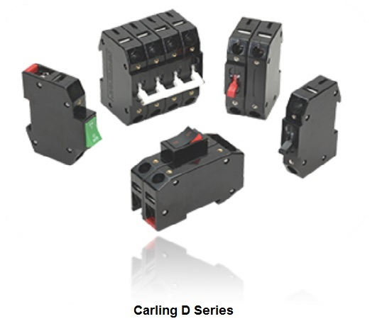 carling d series circuit breakers