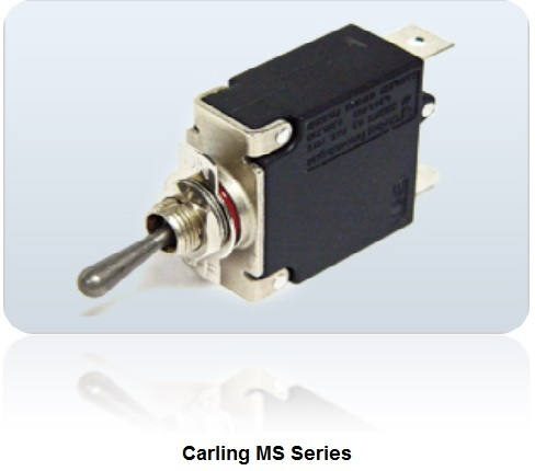 carling hydraulic magnetic ms series circuit breaker