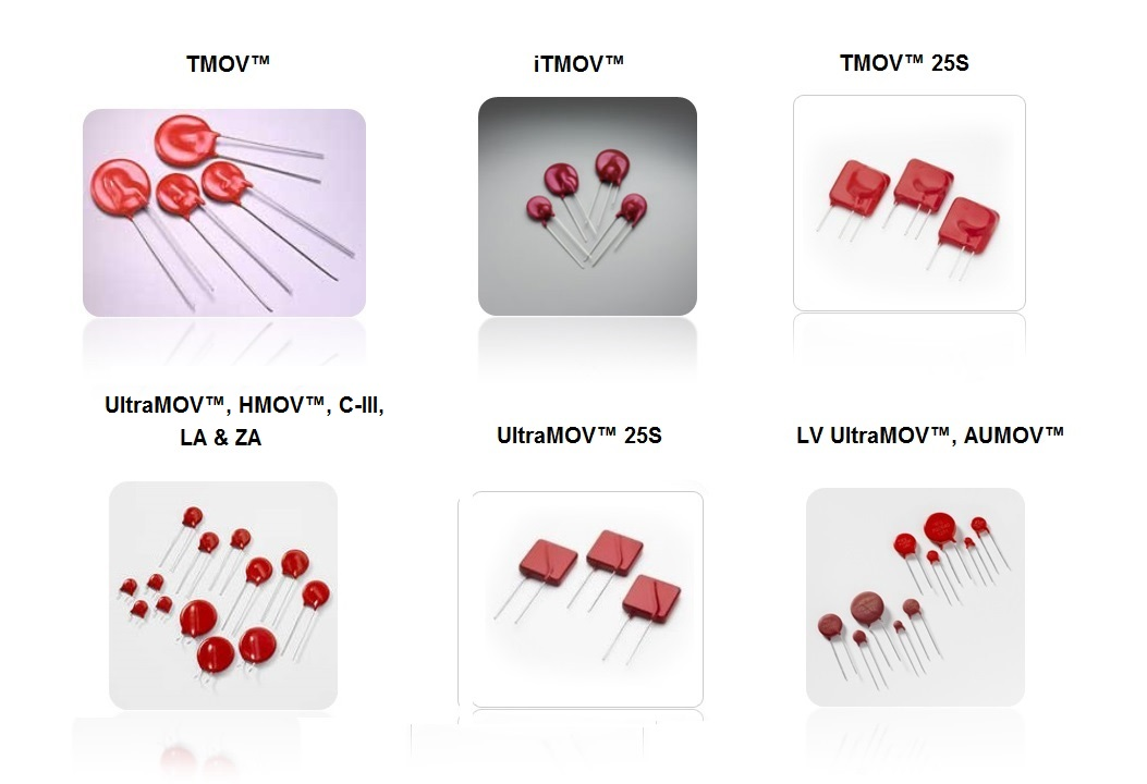 radial leaded metal oxide varistors