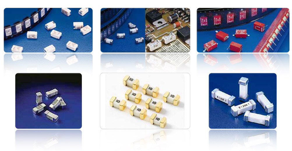 An Assortment Surface Mount Fuses